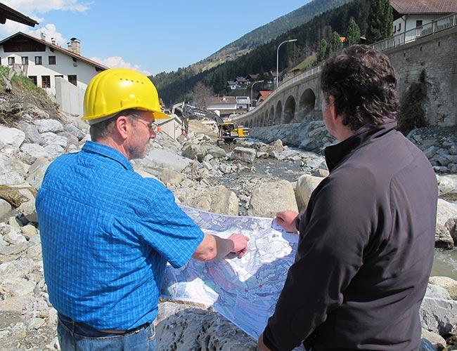 ITS Scheiber Ziviltechniker Gewässerökologie Bauaufsicht und Monitoring