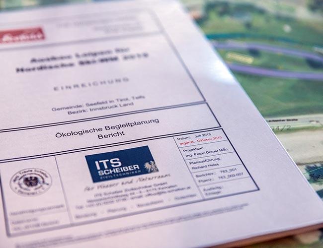 ITS Scheiber Ziviltechniker Gutachten und Einreichplanung