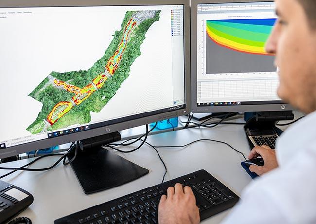 ITS Scheiber Ziviltechniker Habitatmodellierung gewässerbezogener Lebensräume